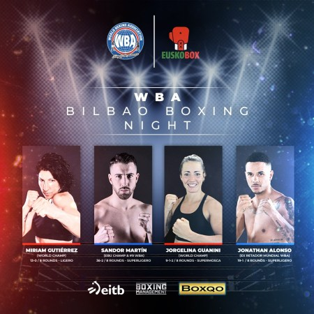 WBA Bilbao Boxing Night will feature Miriam Gutierrez vs. Szilvia Szabados