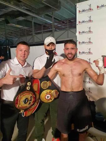 Messaoud surprised Zhangabayev for the WBA Intercontinental belt