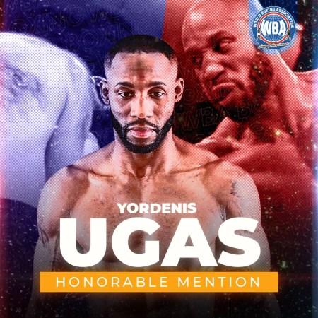 Yordenis Ugas– WBA Honorable Mention August 2020