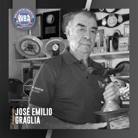 The WBA mourns the passing of Pepe Graglia