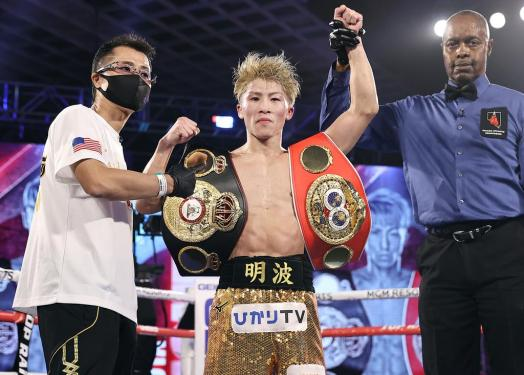 Inoue knocked out Moloney in Las Vegas and remains WBA Super Champion