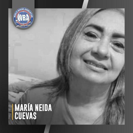Rest in peace, Maria Neida Cuevas