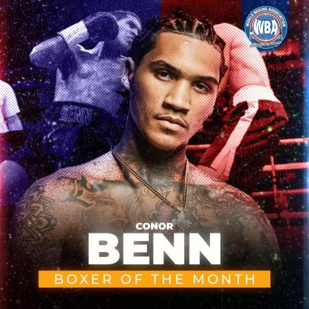 Connor Benn is the WBA Boxer of the Month