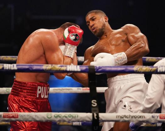 Anthony Joshua retained his belts and remains the king of the heavyweights