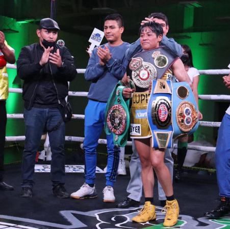 New WBA Miniflyweight Champion