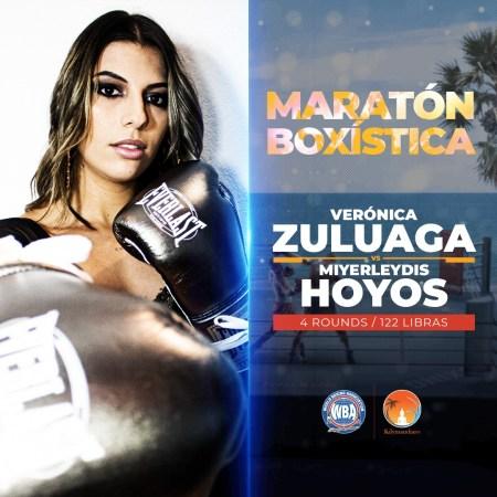 """Female boxing at """"Maratón Boxística"""""""