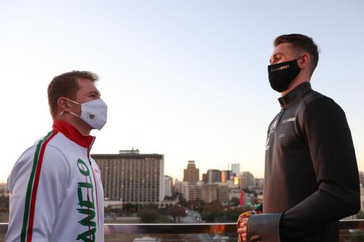 """The great difference in height: will this be Callum Smith's best weapon when facing """"Canelo"""" Alvarez?"""