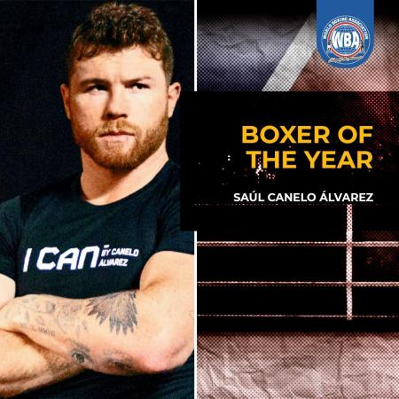 WBA awards Canelo as Boxer of the Year