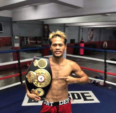 Saludar defeated Paradero to become the new WBA Interim Champion
