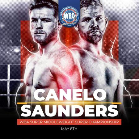 Canelo and Saunders held their online press conference