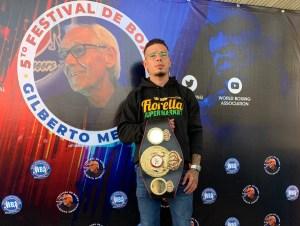 Everything ready for the 5th Gilberto Mendoza Boxing Festival in Turmero