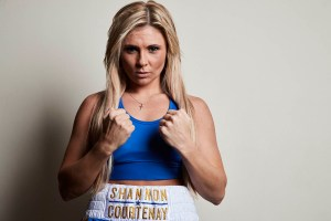 Courtenay-Bridges for the WBA Female Bantamweight title at Wembley Arena