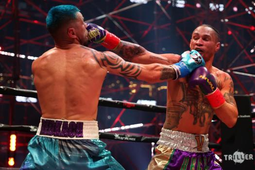 Regis Prograis delivers victory over Redkach