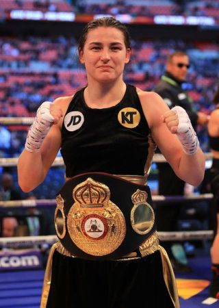 Taylor will defend her WBA crown against Jonas on Saturday