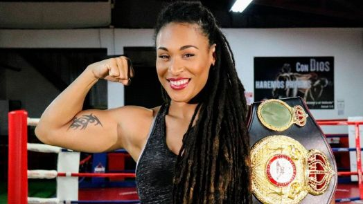 Gabriels-Lara will fight for the WBA Female Light Heavyweight belt this Saturday