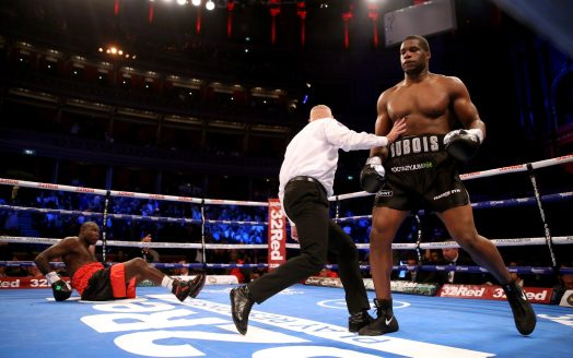 Dubois-Dinu will fight for the Interim Heavyweight title on Saturday