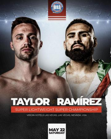 Taylor-Ramírez to fight for the Super Lightweight throne