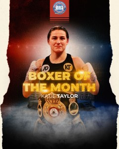 Katie Taylor awarded WBA Female Boxer of the Month in May
