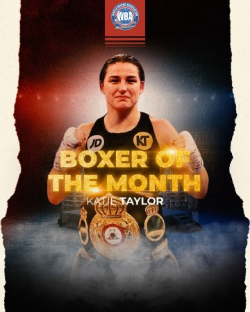 WBA Female Boxer of the Month