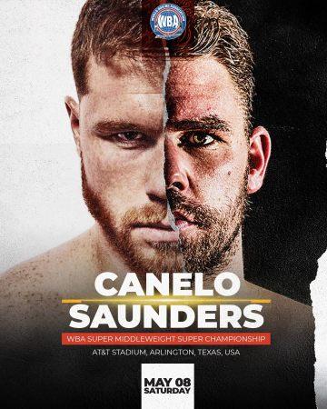 Canelo regresa al ring contra Saunders para celebrar el Cinco de Mayo