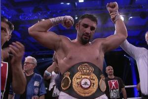 Kabayel retained his WBA-Continental belt