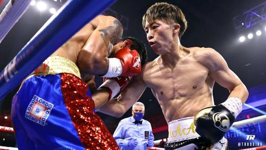 Naoya Inoue destroys Dasmarinas with body shots and retains his crowns