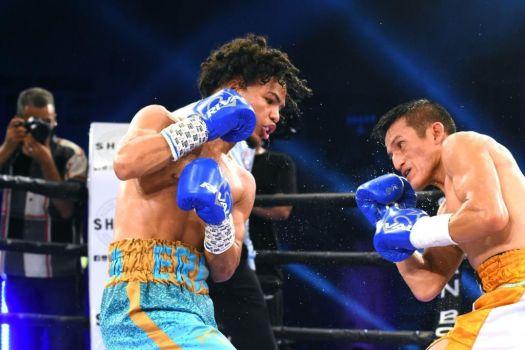 """Minipacman"" won WBA Interim belt in his fourth professional fight"