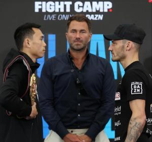 Can Xu and Wood only think about keeping the WBA belt