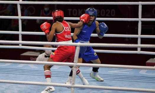 An exciting triumph: Ingrit Valencia beats Mary Kom