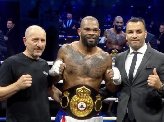 Mike Perez knocked out Salam and won the WBA Inter-Continental belt