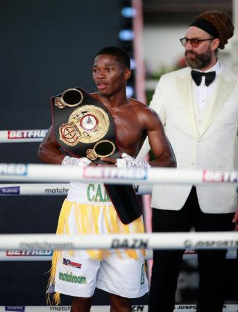 Ford won the WBA-Continental belt with a great victory over Bellotti