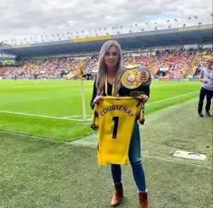 Shannon Courtenay invitada de lujo en la cuarta fecha de la Premier League