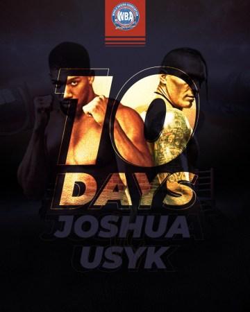 10 días para Joshua-Usyk