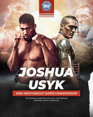 Joshua-Usyk este sábado por el Súper Campeonato AMB