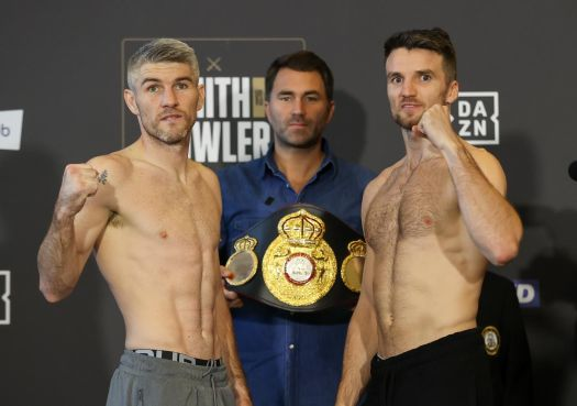 """Fowler and Smith in the """"Battle of Liverpool"""" for WBA-International Belt"""
