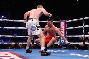 Smith knocked Fowler out and won the WBA-International belt