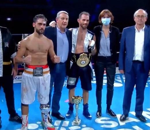 Frenois won the WBA continental belt over Carafa