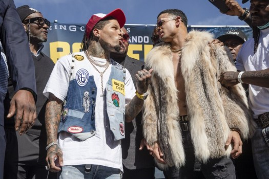 Gervonta and Romero fired at each other at press conference