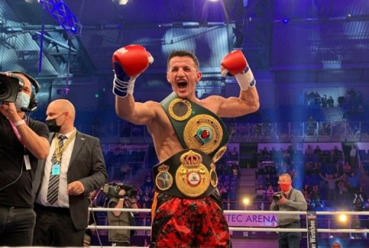 Krasniqi and Boesel this Saturday in WBA eliminator