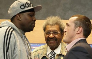Don King in Russia - Jones vs Lebedev WBA cruiserweight title