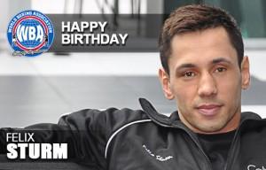 Felix Sturm Happy Birthday