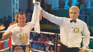 Ana Esteche WBA super lightweight champion
