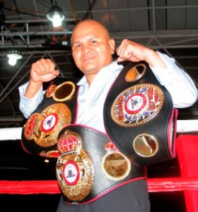 Rosendo regains  his belts