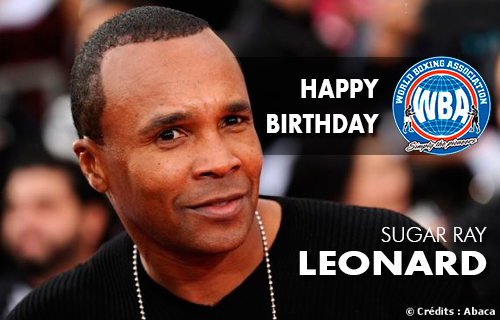 WBA congratulates Sugar Ray Leonard on his birthday