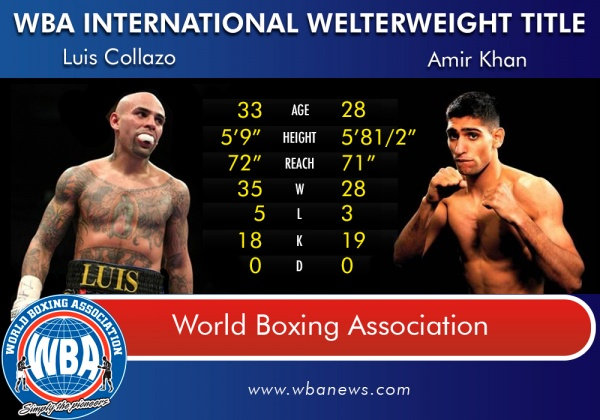 Collazo vs. Khan Tale of the Tape