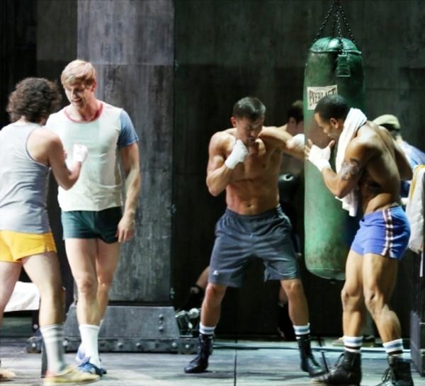 Golovkin estuvo con Rocky en Broadway