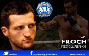 Feliz cumpleaños a nuestro campeón Carl Froch