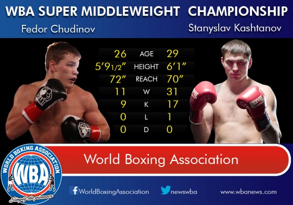 Tale of the Tape - Fedor Chudinov - Stanyslav Kashtanov