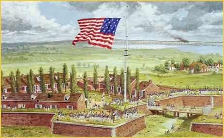Resultado de imagen para star spangled banner fort mchenry
