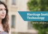 Heritage institute of technology-www.wbjee.co.in